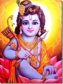 [Rama as child]
