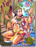 [Hanuman singing]