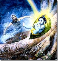 [Krishna and Markandeya]
