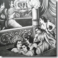 [Pandavas escaping house of lac]