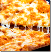 [Cheese pizza]