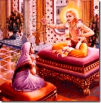 [Kapiladeva and Devahuti]