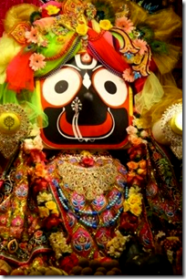 [Jagannatha deity]