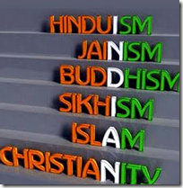 [Different religions in India]