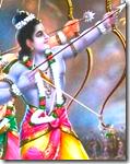 [Shri Rama in battle]