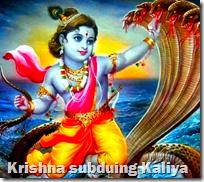 [Krishna subduing Kaliya]