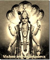 [Vishnu and Anantadeva]