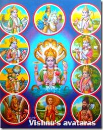 [Vishnu's avataras]
