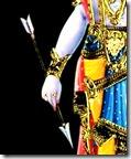 [Shri Rama's arrow]