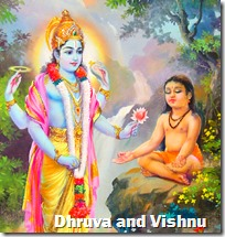 [Dhruva and Vishnu]