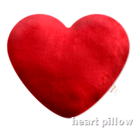 [heart pillow]