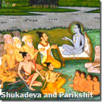 [Shukadeva and Parikshit]