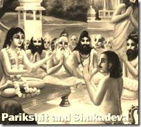 [Parikshit and Shukadeva]