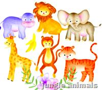 [jungle animals]