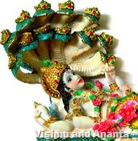 [Vishnu and Ananta]