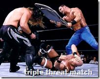 [triple threat match]