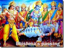 [Bhishma's passing]