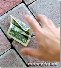 [money found]