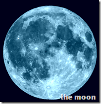 [the moon]