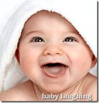 [babies laughing]