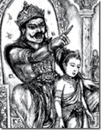 [Prahlada with father]