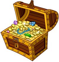 [treasure chest]