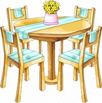 [dinner table]