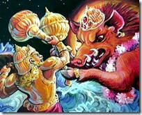 [Vishnu-Hiranyaksha]