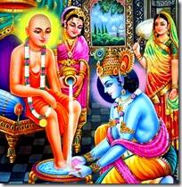 [Sudama visting Krishna]