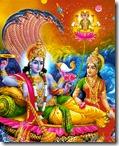 [Lakshmi-Vishnu with Brahma]