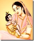 [Devaki and Krishna]