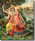 [Satyabhama and Krishna]