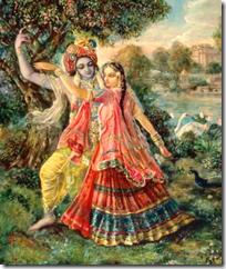 [Satyabhama and Krishna]
