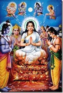 [Sita Devi fire test]