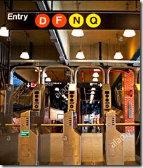 [subway turnstiles]