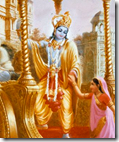 [Rukmini and Krishna]