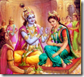 [Rukmini-Krishna marriage]