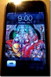 [iPhone screen]