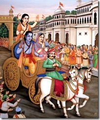 [Chariot leaving Ayodhya]
