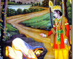 Rama and Ahalya