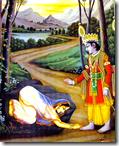 [Rama and Ahalya]