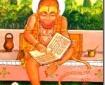 Hanuman reading